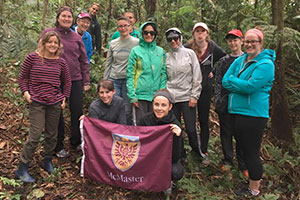 McMaster alumnae travel to Costa Rica for volunteer work
