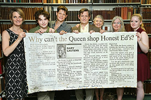 How a piece of Honest Ed's found its way to McMaster