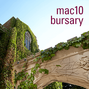 Mac10 Young Alumni Bursary