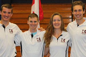 McMaster athletes join Team Canada for World University Rowing Championship