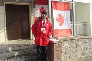 Mac grad top doc for Canada at World University Games